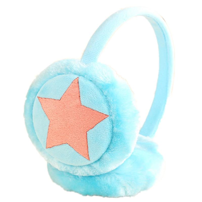 Ear Warmers Male Female Children Earmuffs Plush Fluffy Warm Fur Earmuffs Earlap Ear Cover Ear Muffs Orejeras Winter Freeshipping