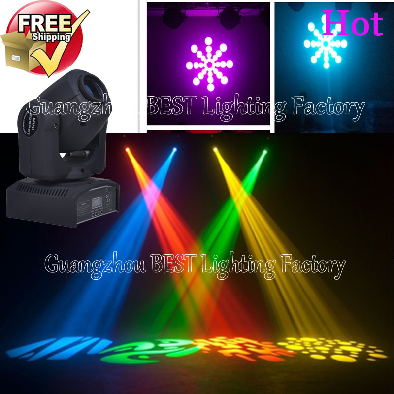 14pcs/lot led 10w moving head gobo light dj equipment