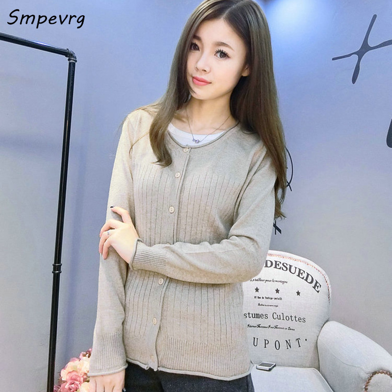 Smpverg 2017 spring Fashion Casual suave Suéter de Cachemira Mujeres Suéter Card