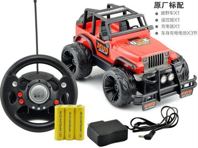 Carregamento Brinquedo Das Crianças Crawlers Rock Condução Do Carro Volante Do Carro de Controle Remoto Hummer Off-Road corridas de drift brinquedo do menino