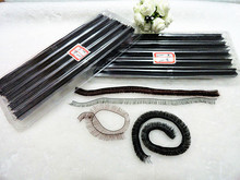 10mm 20cm DIY Eyelashes for BJD SD Reborn Doll Black White Brown 3Colors Eye Lashes for