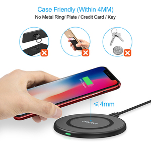 Image 3 - CHOETECH 10W Qi Caricatore Senza Fili per il iPhone 12 X Xs Xr 8 Veloce Wireless pad di Ricarica per AirPods Samsung galaxy Note 9 S10 S9/S9