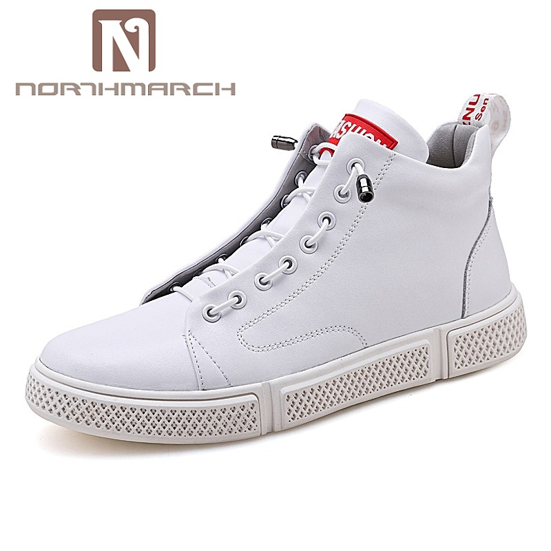 NORTHMARCH Men Genuine Leather Shoes Fashion Brand Man Sneakers Breathable Mens Casual Shoes Tenis Masculino Flat Shoes FootwearNORTHMARCH Men Genuine Leather Shoes Fashion Brand Man Sneakers Breathable Mens Casual Shoes Tenis Masculino Flat Shoes Footwear
