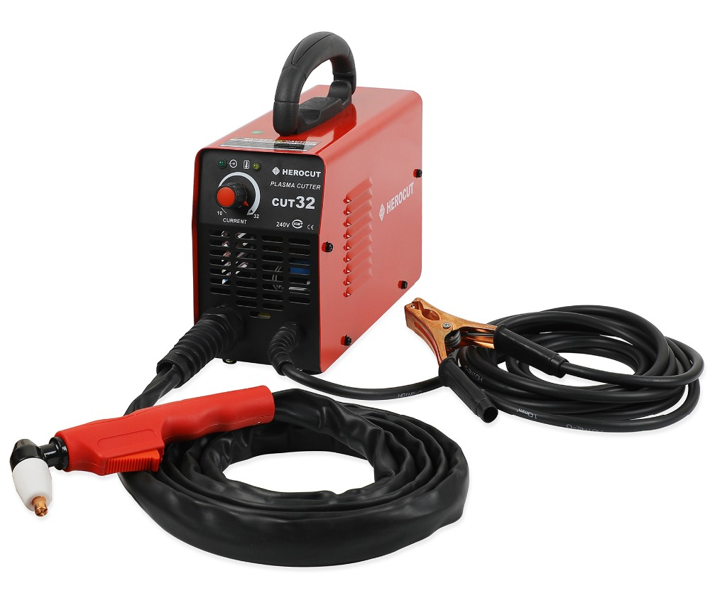 Plasma Cutter Cut32 220 v HeroCut Air Plasma de coupe machine 6mm coupe nette