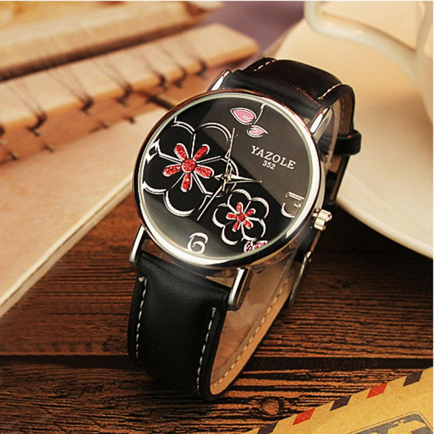 women watches 2017 female man clock Women Watches Female Clock Quartz Watch Ladies Quartz Wrist Watch relogio Reloj Mujer 1753 fashion quartz wrist watches casual women s watch design yoga dial leather band buckle clock female simple hour reloj mujer