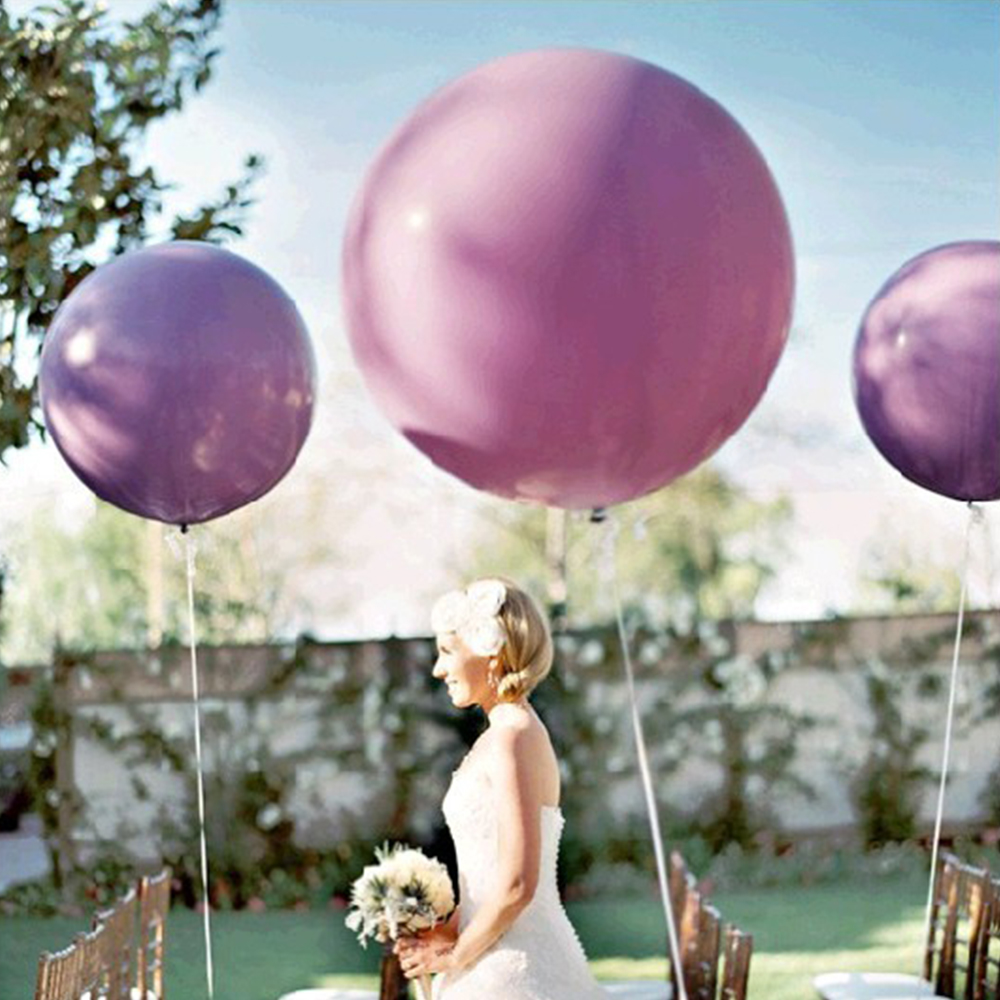5Pcs/lot 36 Inch Balloons Decoration Birthday Balloon Wedding Anniversaire Ballo