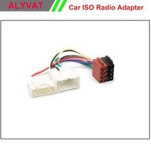 ISO Arnés De Cableado del coche Para RENAULT Duster Logan Sandero 2012 + Potencia de Radio Cable de Alambre Auto Estéreo Adaptador de Conector Adaptador enchufe