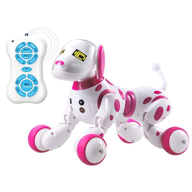 DIMEI cadeau d'anniversaire RC Zoomer chien 2.4G télécommande sans fil chien intelligent électronique Pet éducatif enfants jouet Robot jouets - 3