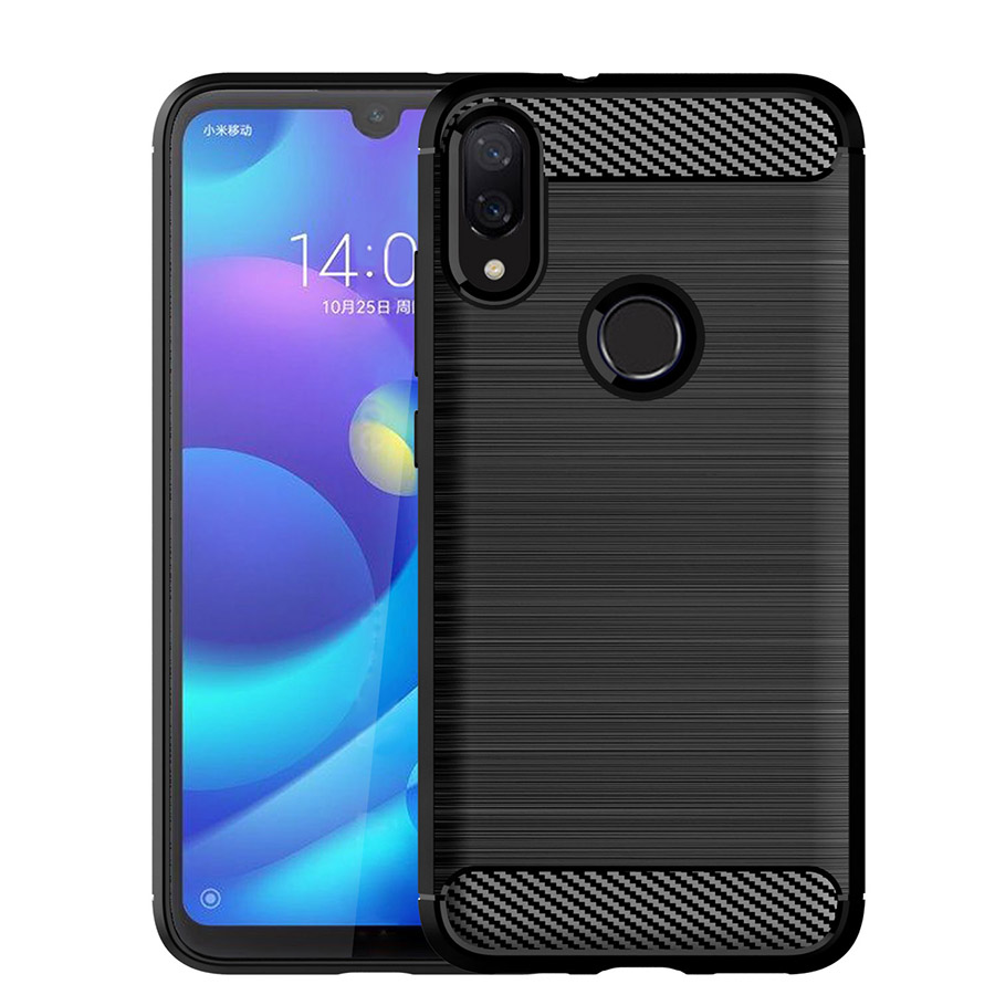 Case for Xiaomi Redmi Note 7 Case Redmi Note 7 Silicone Armor Bumper Shockproof Cover Phone Cases Luxury Xiomi Redmi Note7 Cases(China)