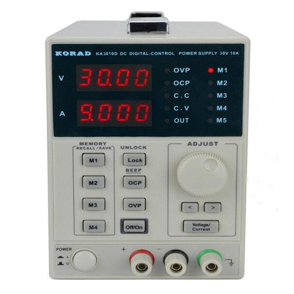 KORAD KA3010D alimentation cc 30V 10A 0.01V 0.001A alimentation à régulation Variable de précision Programmable régulée numérique
