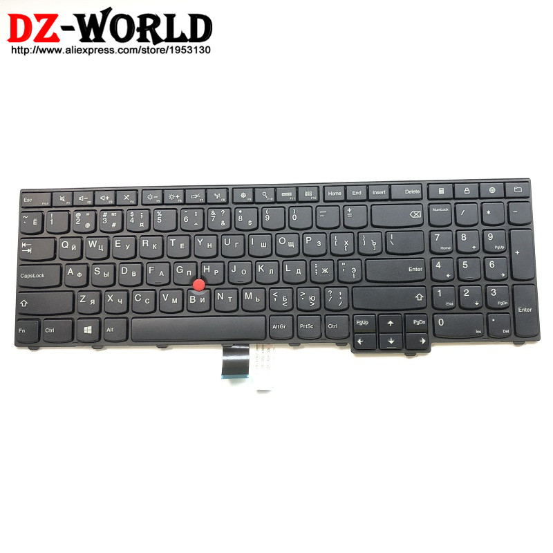 New Original for Lenovo Thinkpad E531 E540 RU Russian Keyboard Teclado 04Y2675 0C45240 плита e531 00001