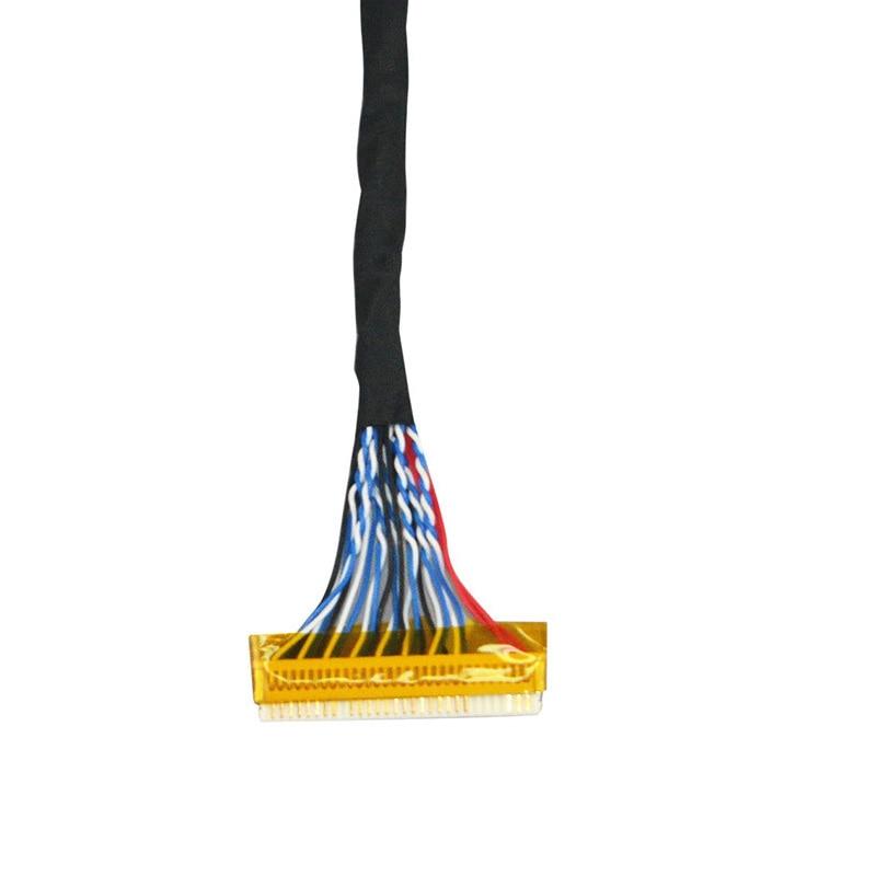 FIX-S6 30Pin cable LVDS 26cm de largo 2ch 6-poco 6 Bits 30 pines interfaz LVDS 15 pulgadas 15,4 pulgadas 17 pulgadas TFT de 17,1 pulgadas