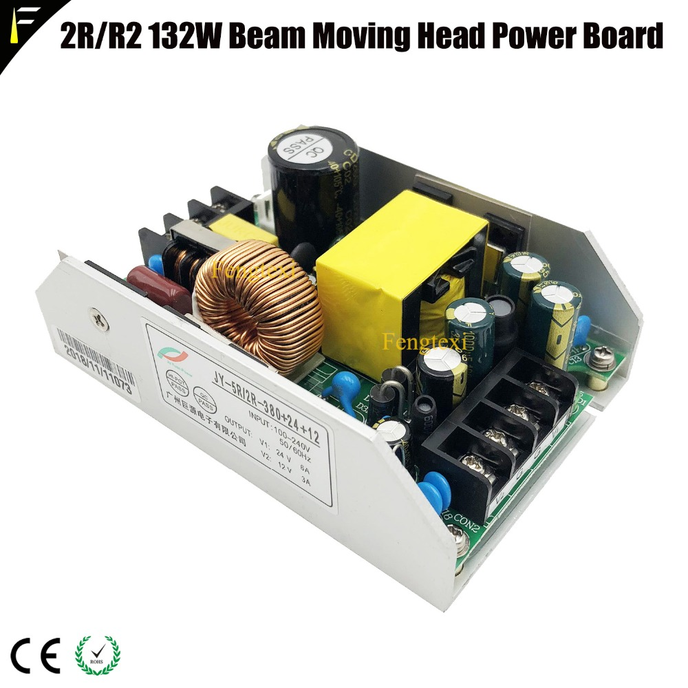 1unit 132w 2R/R2 Moving Head Light Small Size Beam Power Board Supply Board Part Replacement Assembly 132watt 380v24v28v12v1unit 132w 2R/R2 Moving Head Light Small Size Beam Power Board Supply Board Part Replacement Assembly 132watt 380v24v28v12v