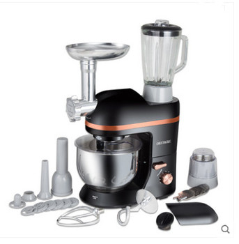TOP CHEF Electric mixer Food processor Dough kneading machine 5L 1000W eggs cake kitchen stand mixer food Cooking mixing beater food mixers bosch mfq2210p home kitchen appliances processor machine equipment for the production of making cooking