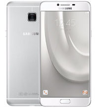 Unlocked Original Samsung Galaxy C7 C7000 4G LTE Android 4GB RAM 32/64GB ROM 16MP 5.7″ 16.0MP Dual SIM smatphone mobile Phones
