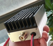 YENI 433 MHZ RF güç amplifikatörü dijital amplifikatör U bölüm walkie talkie amplifikatör 40 W