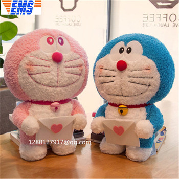 15.74'' Cartoon Doraemon Kawaii Orga mage Oversized Plush Doll Action Figure Collectible Model Toy P1348