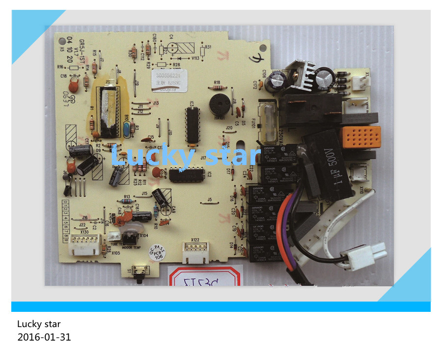 98% new for Gree Air conditioning computer board circuit board 5J53C 300556221 good working 95% new for haier refrigerator computer board circuit board bcd 198k 0064000619 driver board good working