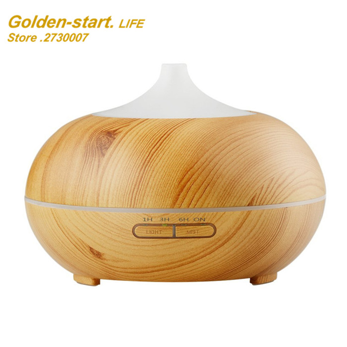 NEW 300ML Woodgrain Essential Oil Aroma Diffuser Aromatherapy Humidifier Mist Maker Purifier 3 Models humidifier essential oil diffuser portable home woodgrain grain aroma cool mist mini humidifier maker aromatherapy air purifier