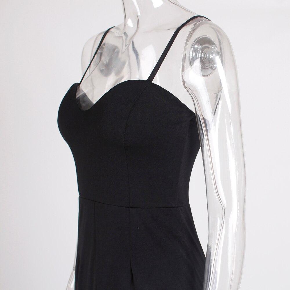 Strapless Split Front  Mermaid Sleeveless Elegant Dress 28