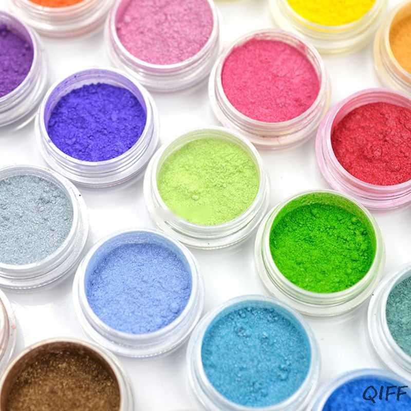 Joyas de resina colorante tinte Mica pigmento de perla en polvo superfino resina tinte arte