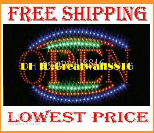 Led open Neon sign light,RGB led lighting,For bar,coffee shop,game room,XC-ZP-014