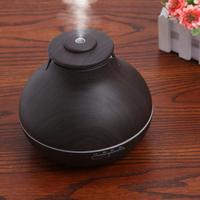 400ml Essential Oil Diffuser Wood Grain Ultrasonic Aroma Cool Mist Humidifier For Office Home Bedroom Living