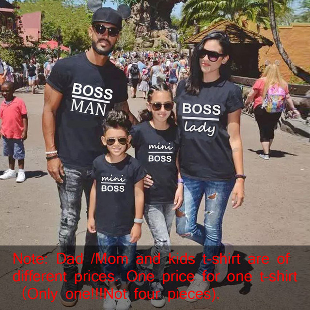 Gourd doll Family Matching Outfits Mommy Daddy Kid Son Baby T-Shirt Shirts Family Clothes Child T-Shirt Letter Print Tops 2