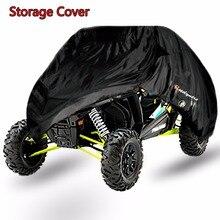 Universal Black Weatherproof Storage Covers For Polaris RZR XP 900 1000 XP Turb&Two Seat UTV