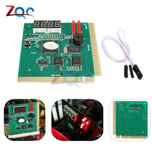 Image 5 - 4 Digit LCD Display PC Analyzer Diagnostic Card Motherboard Post Tester Computer Analysis PCI Card Networking Tools