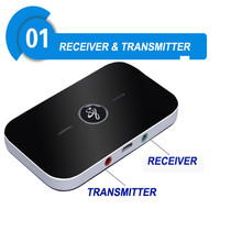 2 in 1 Mini Wireless Bluetooth Receiver Portable 3 5mm Audio Transmitter Music Adapter A2DP For
