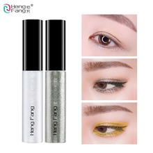 Hengfang 8 Colors Liquid Eye Liner Makeup Natural Waterproof Shimmer White Gold Silver Make Up Shining Glitter Eyeliner