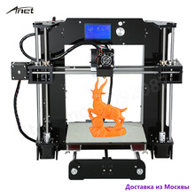 2016 high quality inexpensive Anet A6 Prusa i3 3d printer, PLA filament / 16GB SD as gifts! express shipping Russian warehouse