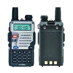 Image 4 - 2Pcs Baofeng UV 5RE Walkie Talkie Dual Band CB Radio UV 5R 5W 128CH UHF VHF Portable Two Way Radio Station Hunting Transceiver