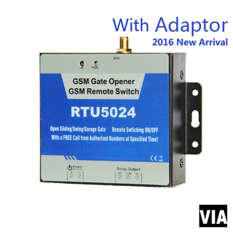 RTU5024 Adaptor Direct Factory Sales GSM Door Opener Electric Remote Control Gate Opener By Free Phone Call &Android APP