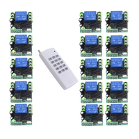 12v wireless remote control switch 1000 meters 15 keys remote control lighting remote switch 12v 4308