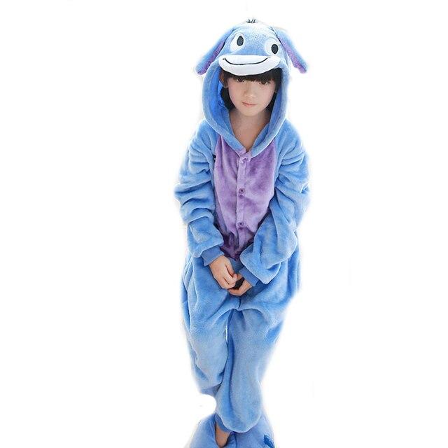 2017 halloween costume for kids cosplay Kawaii animal Eeyore onesie boys  girls pajamas party dresses 2ab4010d9