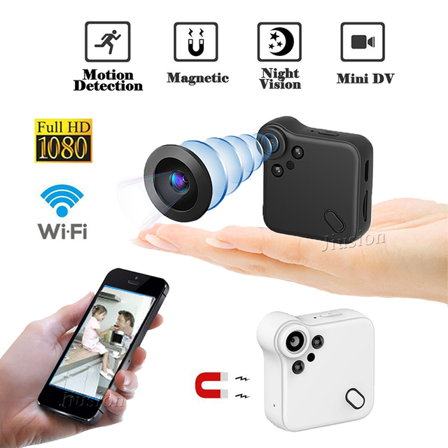 C1S WiFi Mini Camera FHD 1080P Camcorder Night Vision Motion Sensor IP Webcam Magnetic Adsorption Video Audio Recorder Micro Cam