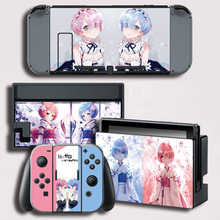Vinyl Cover Decal Skin Protector Sticker for Nintendo Switch NS Console Skins for Ram Rem Skin Sticker