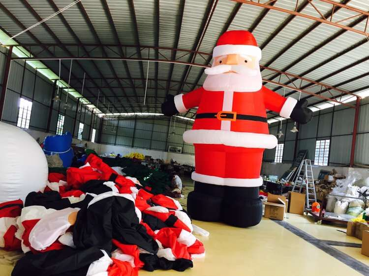 Inflatable Santa Claus Inflatable Advertising Product  With Blower For Christams Day giant christmas inflatable santa inflatable christmas father large santa claus free shipping
