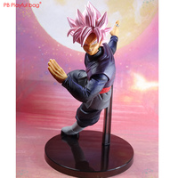 20CM Goku Black figure PVC model Action figure No Earings NEW Anime collections Children GIfts Christmas best presents HD01