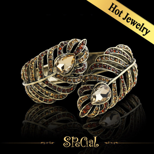 Special Bracelets & Bangles Synthetic Colorful Diamond Acrylic Vintage Foreign Design Free Shipping Jewelry SZF4A05
