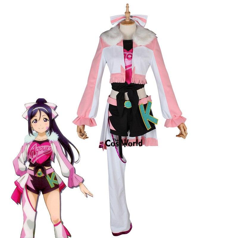 Love Live Sunshine Miracle Wave Matsuura kanan Tops Coat Pants Dress Uniform Outfit Anime Cosplay Costumes