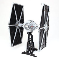 Star 1685Pcs Wars Lepin 05036 TIE Model Fighter Building Blocks Bricks The Classic LegoINGlys Model 75095