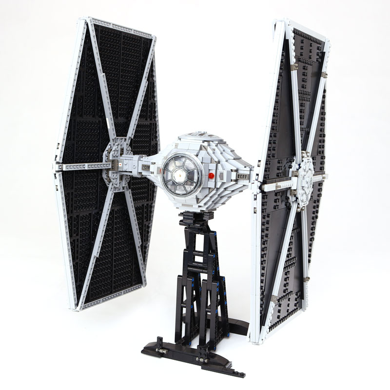 Star 1685Pcs Wars Lepin 05036 TIE Model Fighter Building blocks Bricks the Classic LegoINGlys Model 75095 to Children Gift new lepin 05048 star classic model wars 543pcs the tie striker building blocks bricks toys compatible with 75154 children gift
