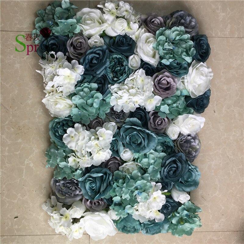 SPR nouveau! mariage de haute qualité scène fleur mur toile de fond événements cérémonie arche fleurs table pièce maîtresse decoratios livraison gratuite