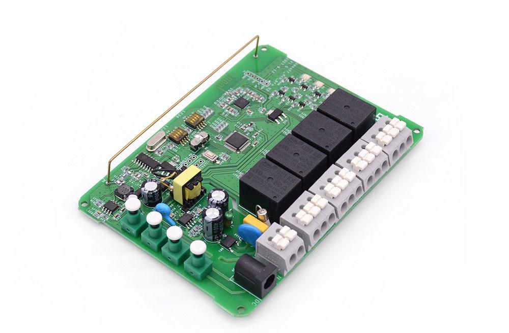 4 canais wifi interruptor inteligente 433 mhz
