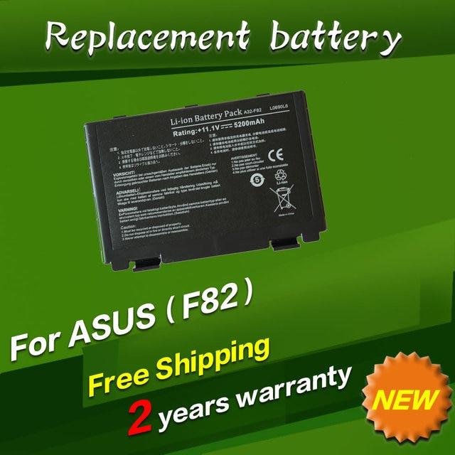 JIGU [специальная Цена] новый аккумулятор для ноутбука Asus F52 F82 K40 K50 K40E K51 K60 K70 Серии, 90-NVD1B1000Y А32-F52 A32-F82 6 КЛЕТОК