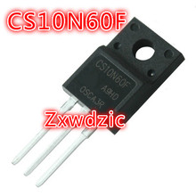 10PCS CS10N60F TO-220F 10N60F TO220F CS10N60 CS10N60FA9R 600V 10A new original fdp10n60nz to 220f
