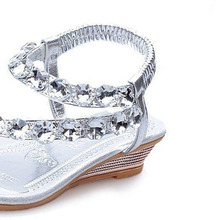 Women Rhinestone Summer Slipper (2 colors)